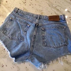 Vintage American Eagle Dungaree's Cutoff Shorts